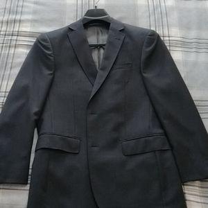 Boulevard Club 38S Grey Blazer 100% Wool